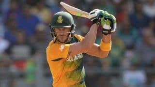 पहला वनडे जीतने के बाद कप्तान डू प्लेसिस ने की इस खिलाड़ी की तारीफ