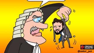 CARTOON: Supreme Court removes Anurag Thakur as BCCI President
