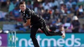 Boult equals Hadlee's record of most five-wicket hauls for New Zealand in ODIs