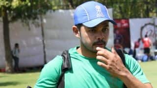 S Sreesanth denied NOC for Scotland Cricket League