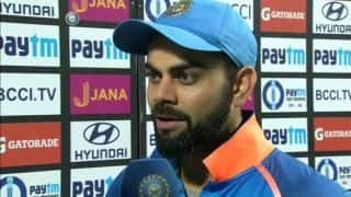 Back-to-back clinical performances is really pleasing: Virat Kohli