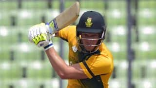 David Miller's unbeaten half-century guides South Africa to 3-wicket win over Australia in 1st T20I