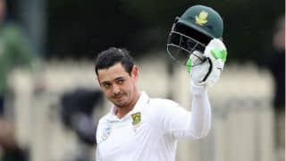 Quinton de Kock: Don't see myself being like Adam Gilchrist