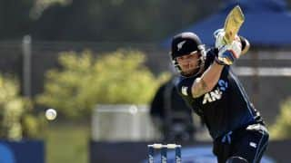 New Zealand beat Sri Lanka by 7 wickets in first ODI at Christchurch