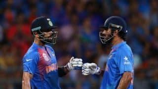 रिषभ पंत को टी20 टीम में मौका देना चाहते हैं महेंद्र सिंह धोनी: विराट कोहली