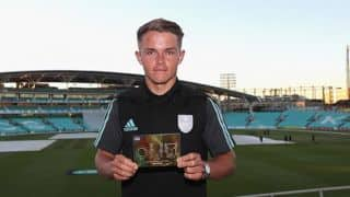 Sam Curran named Cricket Writers' Club's young cricketer of the year