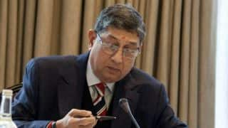 N Srinivasan to represent TNCA at BCCI SGM