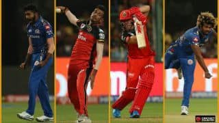 RCB vs MI highlights: Bumrah's mastery, Chahal's bravery and that no-ball