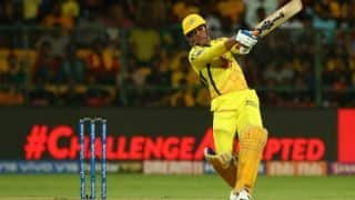 MS Dhoni becomes First Indian to smash 200 sixes in IPL