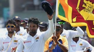 Kumar Sangakkara bids farewell to Galle after memorable win for Sri Lanka