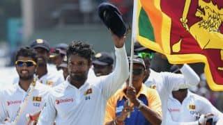 Kumar Sangakkara bids farewell to Galle after memorable win for Sri Lanka
