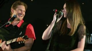 VIDEO: Shane Watson, Danielle de Villiers show off musical talents