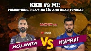 IPL 2019 KKR vs MI: Who will win today's IPL match - predictions, playing 11s and head to-head
