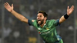T10 League, Match 2: Shahid Afridi claims hat-trick, Pakhtoon Team defeat Maratha Arabians by 25 runs