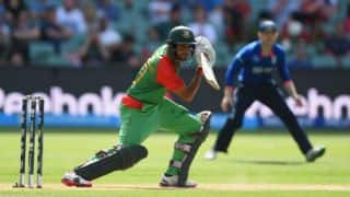 Bangladesh beat England by 15 runs in a closely fought encounter in Pool A match at Adelaide