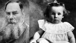 When WG Grace played with Don Bradman's uncle