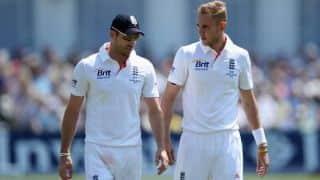 'पाकिस्तान के खिलाफ दूसरे टेस्ट से ब्रॉड या एंडरसन को करना होगा बाहर'