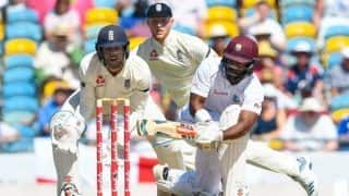 1st Test: Debutant John Campbell gives Windies strong start against England