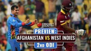 AFG vs WI, 2nd ODI at Gros Islet: Visitors look to wrap series; Hosts eye comeback