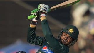 Pakistan in control following Younis Khan dismissal against India in ICC Cricket World Cup 2015