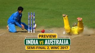 India vs Australia, WWC 2017: One hit closer to the Lord's glory