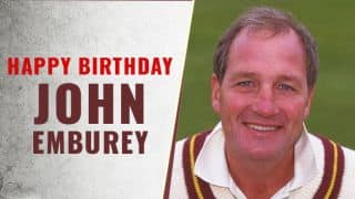 John Emburey: 14 facts about the English off-spinner