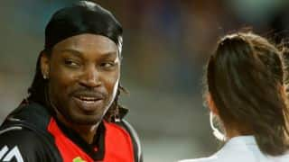 Chris Gayle fined USD 7,000 by Melbourne Renegades for inappropriate comments on Mel McLaughlin