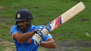 Rohit Sharma completes half-century during India-Bangladesh 1st ODI