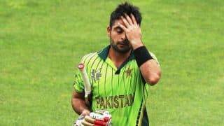Pakistan Cup 2016: Ahmed Shehzad breaks glass with bat after his dismissal