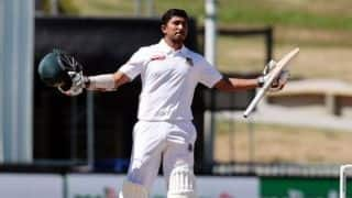 1st Test: Sarkar maiden ton keeps Bangladesh alive