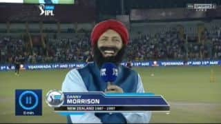 When Danny Morrison turns up as a Sardaar in IPL 9 match!