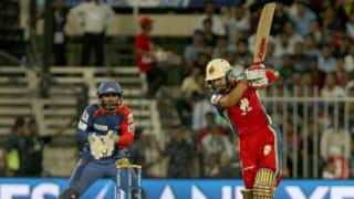 IPL 2014: Royal Challengers Bangalore beat Delhi Daredevils by 8 wickets