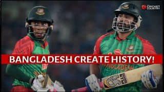 Bangladesh create history, thrash Pakistan by 7 wickets in 2nd ODI