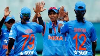 India Women register historic win against South Africa Women after winning 5th T20I by 54 runs