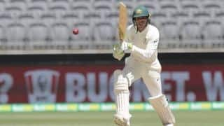 1st Test: Usman Khawaja and Tim Paine haul Australia through wicketless morning
