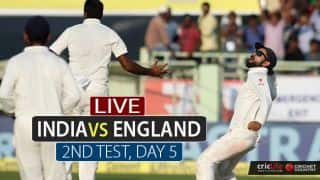 LIVE Cricket Score in Hindi, India vs England 2nd Test, Day 5 at Visakhapatnam