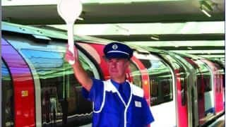 A whiff of cricket on the London Tube