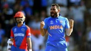 Cricket World Cup 2019: Mohammed Shami hat-trick helps India stave off spirited Afghanistan threat