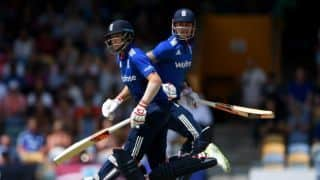 Eoin Morgan says England team were outstanding in all three departments in third ODI against India