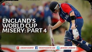 England and World Cup Cricket — the same old story: Part 4 of 5