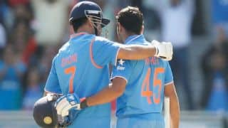 MS Dhoni, Rohit Sharma batting together for the first time in a chase since 2015 vs Sout Africa