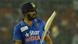 Rohit Sharma, Hardik Pandya guide India to challenging 166 for 6 against Bangladesh in Asia Cup T20 2016 opener