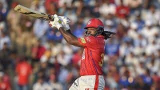 Indian T20 League: Chris Gayle first to 300 sixes