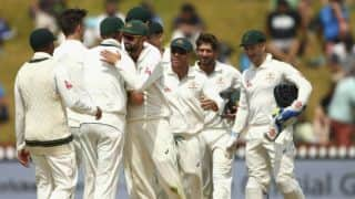 AUS 363/4 | Live Cricket Score, New Zealand vs Australia 2015-16: 2nd Test at Christchurch, Day 2: Australia trail by 7 runs at stumps on Day 2