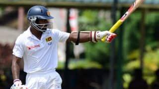 Kaushal Silva scores fighting 50 in India vs Sri Lanka 2015, 2nd Test at Colombo
