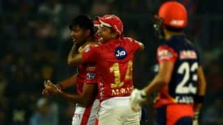 IPL 2018, Match 22:  KXIP top table with 4-run victory over struggling DD