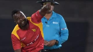 ICC World Cup Qualifier 2018: Brian Vitori suspended from bowling