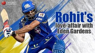 Rohit Sharma's and Eden Gardens: The love-affair continues