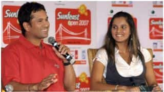 Sania Mirza names Sachin Tendulkar her favourite Indian cricketer