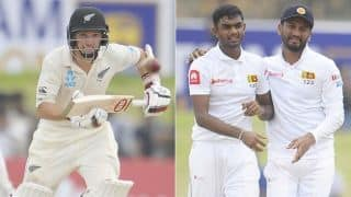 SL vs NZ: Lasith Embuldeniya 4 wicket haul restricts New Zealand to 285, Sri Lanka gets 268 run target